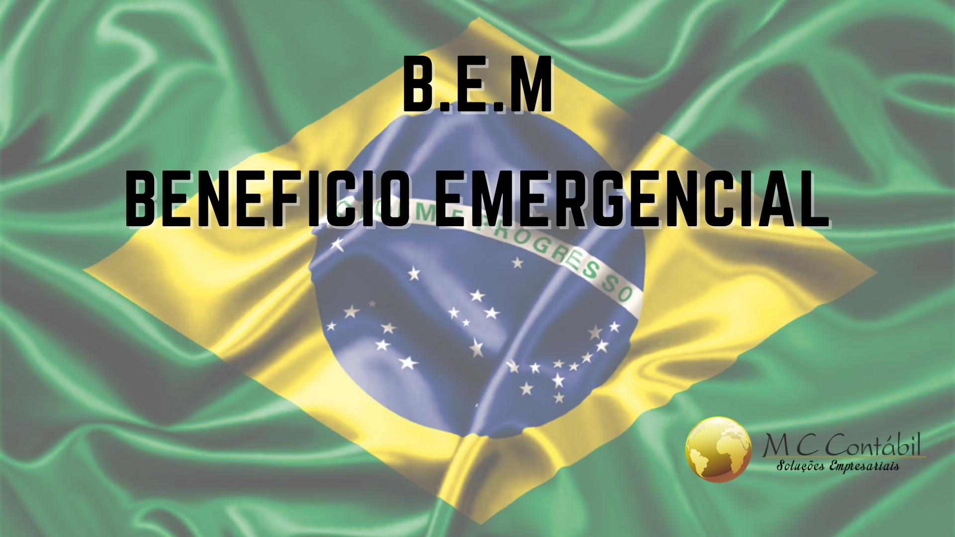 B.E.M Benefício Emergencial 2021
